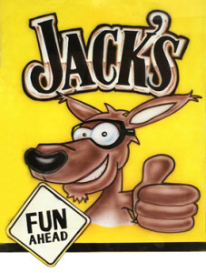 Jack's Fun Ahead kangaroo