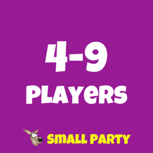 4-9 player birthday party
